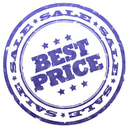 Best price stamp Stock Photo - 6125247