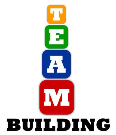 team effort: Teambuilding concept