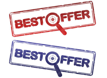 best offer stamp Stock Photo - 6178675