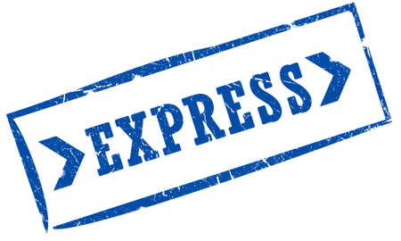 Express mail stamp Stock Photo - 6250911