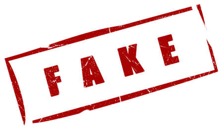 Fake red stamp Stock Photo - 6300217