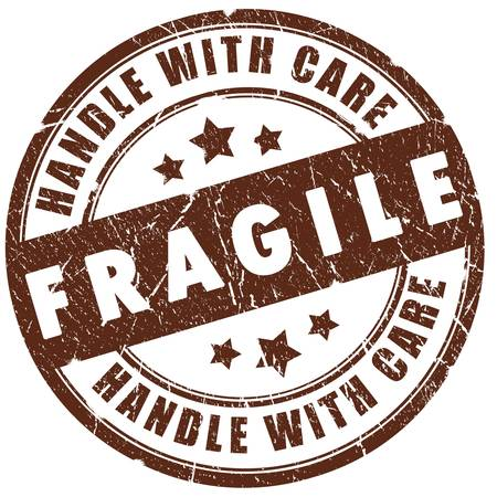 handle: Fragile stamp