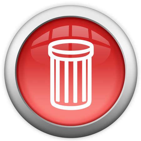 Recycle bin icon photo