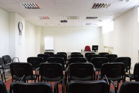 Empty classroom photo