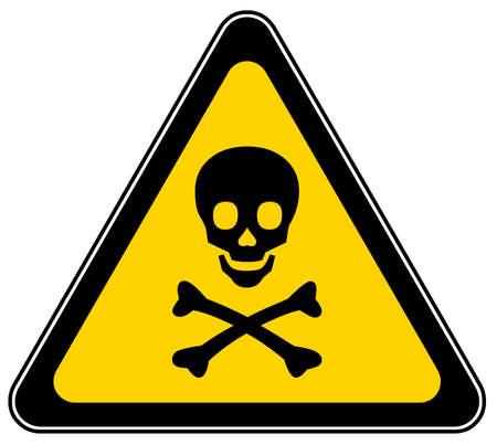 Mortal danger sign Stock Photo - 6388848
