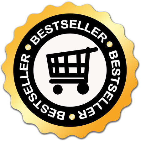 Bestseller label Stock Photo - 6388853