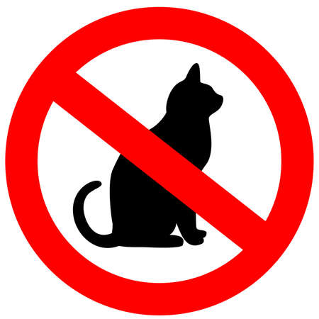 banned: No cats