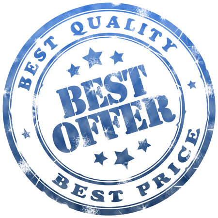 Best offer stamp Stock Photo - 6486479
