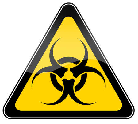 Biohazard sign Stock Photo - 6486473