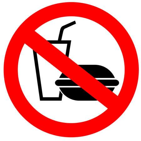 interdiction: Aucun Fast-Food.