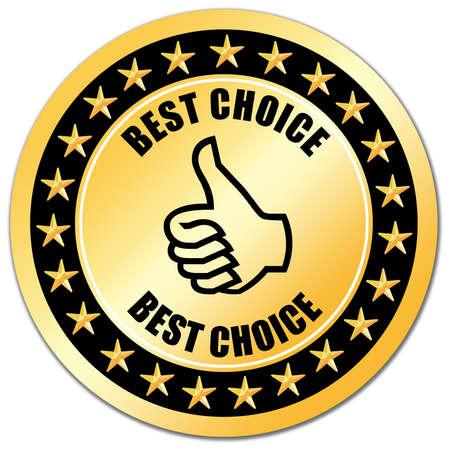best: Best choice Stock Photo