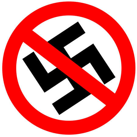 No fascism sign Stock Photo - 6597627