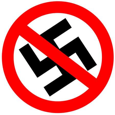 No fascism sign Stock Photo - 6597627