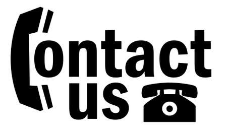 Contact us icon Stock Photo