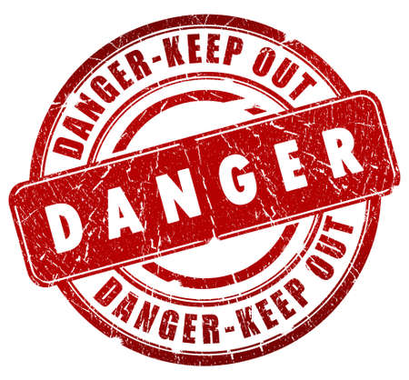 Danger stamp Stock Photo - 7014842