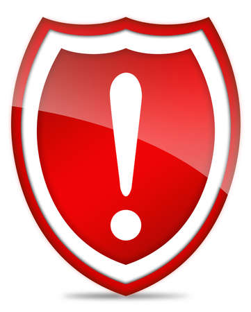 Exclamation security sign Stock Photo - 7014830