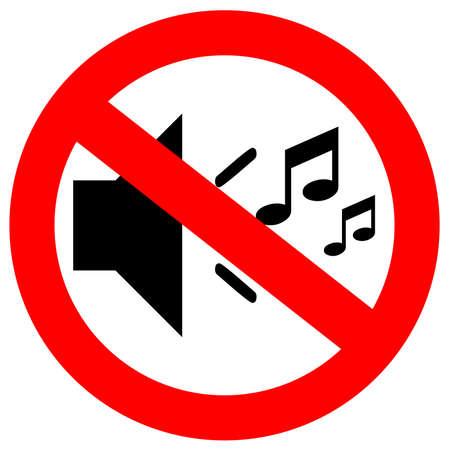 gürültü: Hiçbir müzik işareti