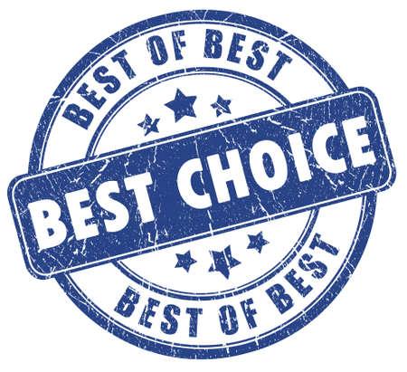 Best choice stamp Stock Photo - 7426691