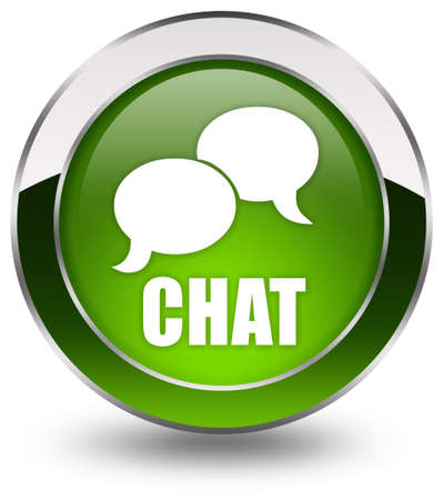 chat bubble: Chat icon Stock Photo