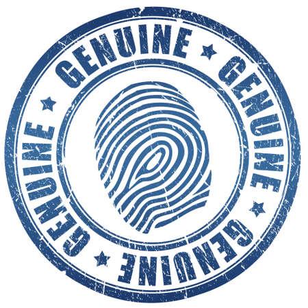 Genuine stamp Stock Photo - 7426724