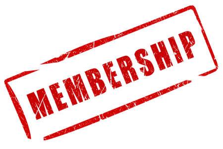 Membership stamp photo
