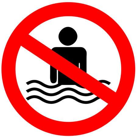 proibido: Nenhum sinal da nata??o Imagens