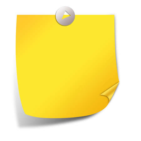 yellow sticky note: Post it note paper