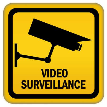 cam: Video surveillance sign