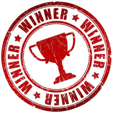trophy winner: Vítěz razítko Reklamní fotografie