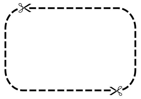 Coupon border photo