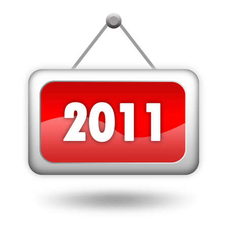 2011 new year sign Stock Photo - 8101089