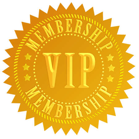 Vip membership Stock Photo - 8101109
