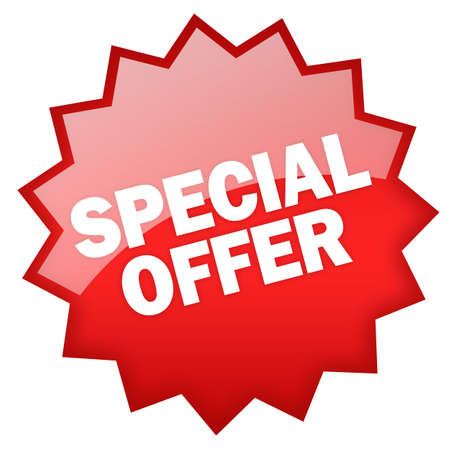 Special offer sticker Stock Photo - 8101110