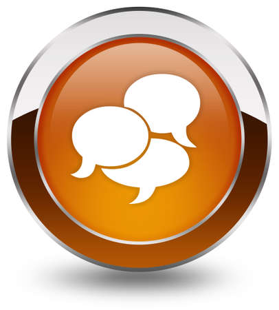 Chat icon Stock Photo - 8157735