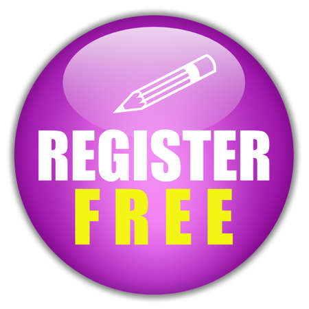 Register free button Stock Photo - 8157739