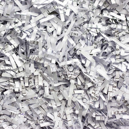 Abstract background with shredded paper photo