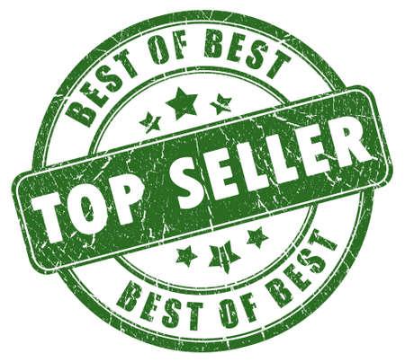 vendedores: Sello de vendedor superior  Foto de archivo