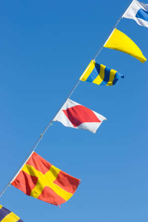 Nautical flags photo