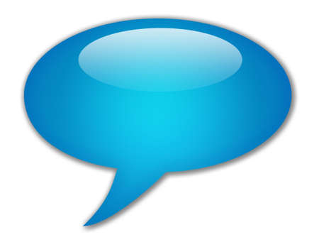 your text: Speech bubble blank