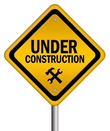 Under construction sign photo