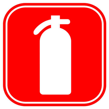 fire extinguisher sign: Fire extinguisher Stock Photo