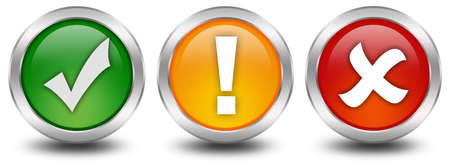 Web security buttons photo