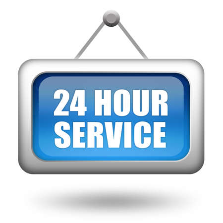 24 hour service Stock Photo - 8623334