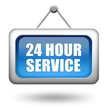 24 hour service photo