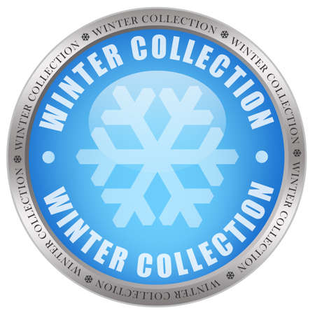 Winter collection icon photo