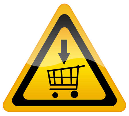 Add to cart sign Stock Photo - 8885313