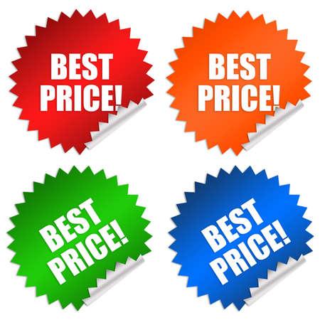 Best price sticker photo