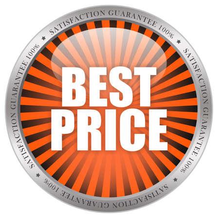 Best price icon Stock Photo - 8885329