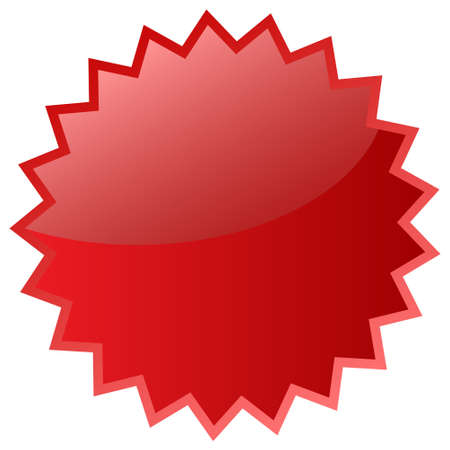 Red star icon Stock Photo - 8885307