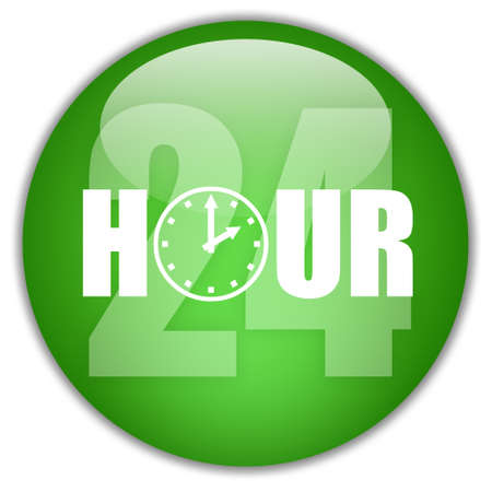 Open 24 hour sign Stock Photo - 8885317